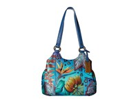Anuschka 469 Tropical Dream Handbags Blue