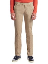 Saks Fifth Avenue Collection Cotton Chino Pants Wine Navy Brown Beige