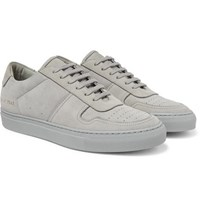 Common Projects Bball Suede Sneakers Gray