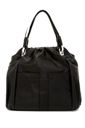 L.A.M.B. Gaze Leather Satchel Black