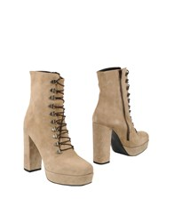 Jolie By Edward Spiers Ankle Boots Khaki