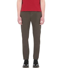 Paul Smith Regular Fit Tapered Dyed Jeans Khaki