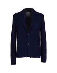 Guess Knitwear Cardigans Men Dark Blue