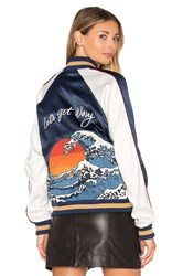 Lovers Friends X Revolve The Exclusive Bomber Navy