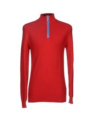 Ivy Oxford Knitwear Turtlenecks Men Red