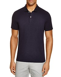 Bloomingdale's The Men's Store At Slub Jersey Enzyme Wash Classic Fit Polo 100 Exclusive True Navy