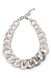 Lafayette 148 New York Women's Chain Link Necklace Taupe