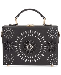Inc International Concepts Ayjay Box Clutch Only At Macy's Black