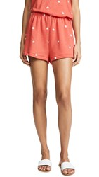 Wildfox Couture Football Star Golden Shorts Hot Lipstick