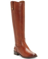 Inc International Concepts Women's Fawne Riding Boots Created For Macy's Women's Shoes Cognac