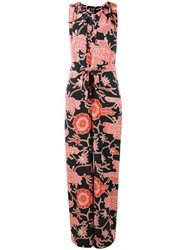Creatures Of The Wind Printed Jumpsuit Black