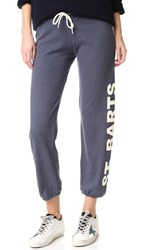 Monrow Vintage St. Barth Sweats Blue Clay