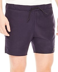 Sandro Board Swim Trunks Navy Blue