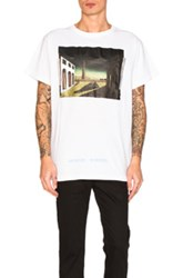 Off White Silver Chirico Tee In White