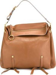 Jimmy Choo Large 'Mardy' Tote Nude And Neutrals