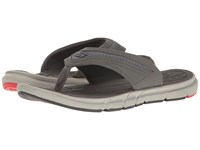 Skechers Thong Sandal W Mesh Charcoal Red Men's Sandals Black