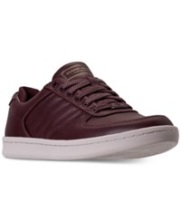 Mark Nason Men's Crossroads Casual Sneakers From Finish Line Dark Red