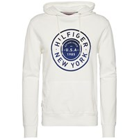 Tommy Hilfiger Men's Rick Graphic Hoody Off White