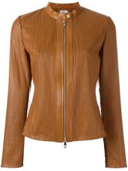 Desa 1972 Zip Up Jacket Brown