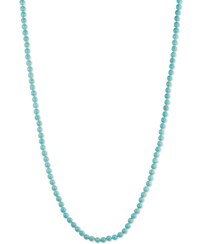 Anne Klein Beaded Strand Necklace Turquoise