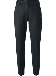 Piazza Sempione Tailored Cropped Trousers Grey