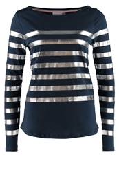 Little Marcel Timilar Long Sleeved Top Bleu Marine Argent Dark Blue