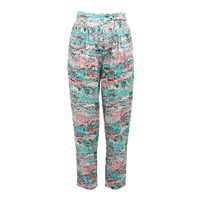 Lowie French Farm Print Cotton Trousers