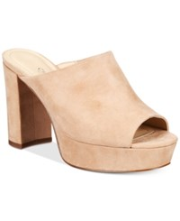 Charles By Charles David Miley Platform Mules Women's Shoes Nude
