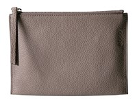 Ecco Sculptured Small Clutch Moon Rock Clutch Handbags Gray