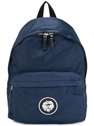 Versus Lion Head Backpack Blue