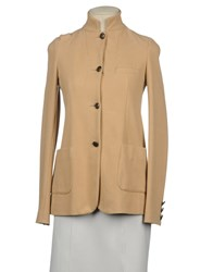 Douuod Suits And Jackets Blazers Women Sand