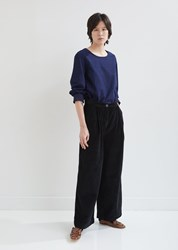 Casey Casey Ppp Relaxed Corduroy Pants Black