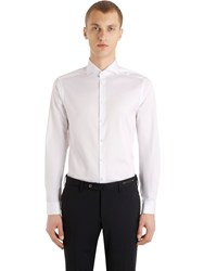 Eton Super Slim Fit Pure Cotton Shirt White