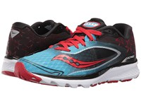 Saucony Kinvara 7 Blue Black Red Women's Shoes