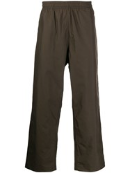 Our Legacy Straight Leg Trousers Brown