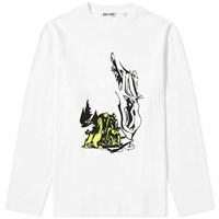 Our Legacy Long Sleeve Psychedelic Box Tee White