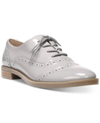 Franco Sarto Imagine Lace Up Oxfords Women's Shoes Silky Grey