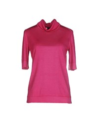 Lorena Antoniazzi Knitwear Turtlenecks Women Fuchsia