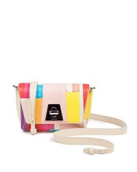 Akris Anouk Little Day Crossbody Bag In Printed Leather Multi