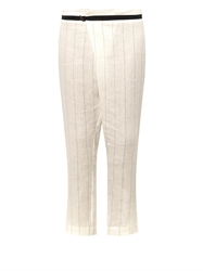 Zeus Dione Corinth Striped Linen Trousers