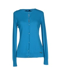 G.Sel Cardigans Turquoise