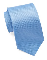 Burma Bibas Silk Textured Tie Blue