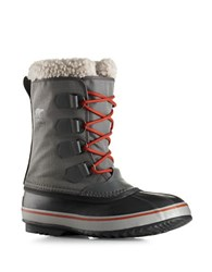 Sorel 1964 Pac Sherpa Snow Cuff Winter Boots Grey