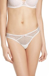 Betsey Johnson Women's Mesh Thong
