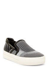 Ash Jeday S Mesh Slip On Platform Sneaker Black