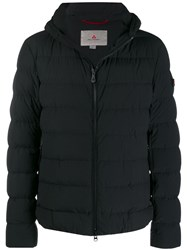 Peuterey Hooded Padded Jacket Black