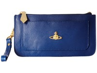 Vivienne Westwood Braccialini Pouch Card And Coin Holder Blue