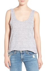Rag And Bone Women's Rag And Bone Jean 'Summer' Stripe Linen And Cotton Tank