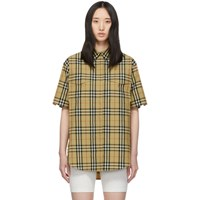 Burberry Beige Curlew Shirt Dress