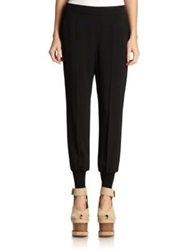 Stella Mccartney Cuffed Harem Pants Navy Black